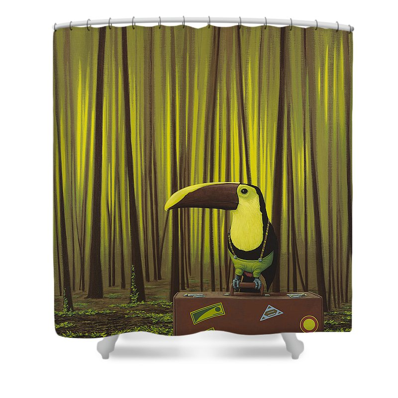 Toucan Shower Curtains
