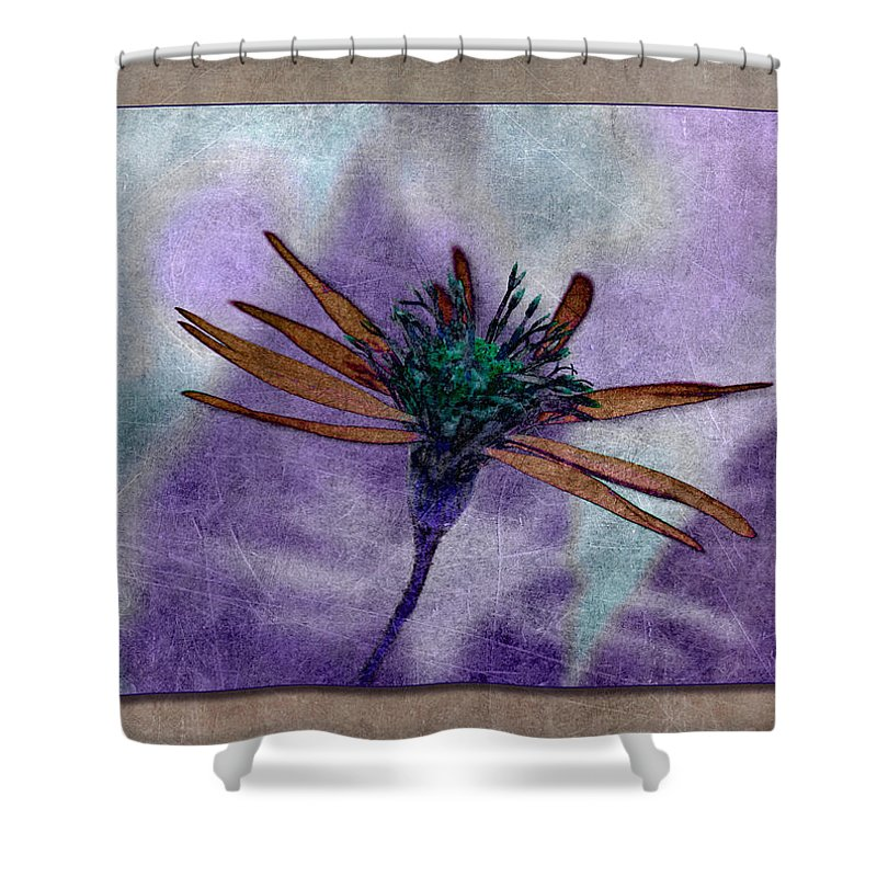 Flower Shower Curtain featuring the photograph Swampflower by WB Johnston