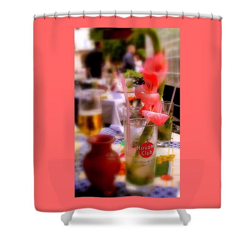 Cuba Shower Curtain featuring the photograph Sweet Havana by Karen Wiles