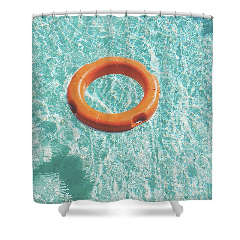 Water Shower Curtain featuring the photograph Swimming Pool III by Cassia Beck