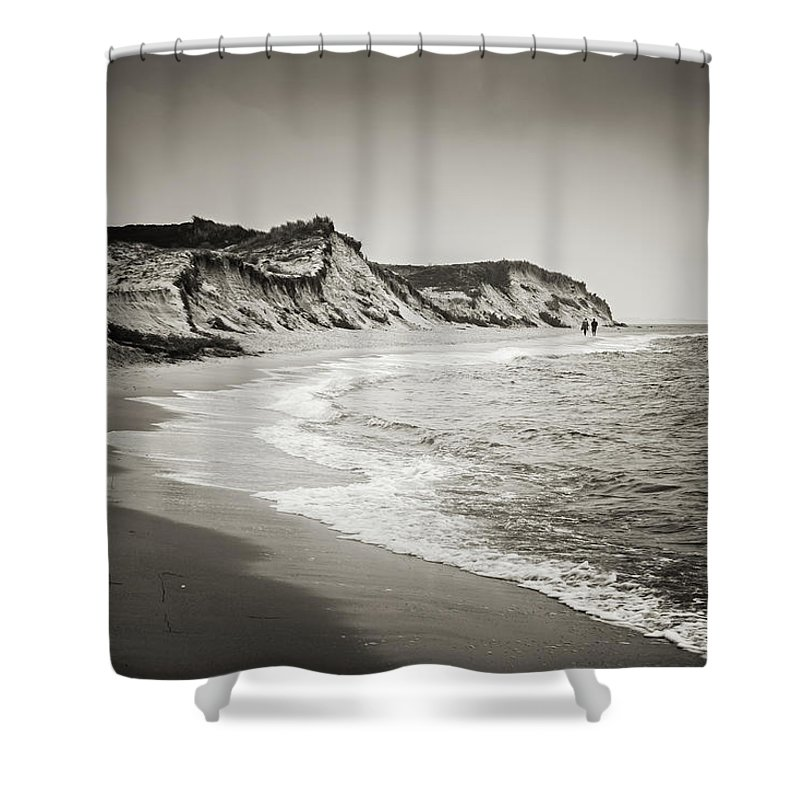 Sylt Shower Curtain featuring the photograph Sylt - Hoernum Odde by Alexander Voss