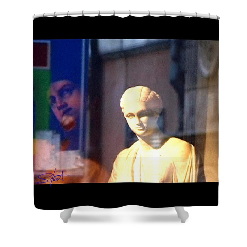 Rome Shower Curtain featuring the photograph Tableau by Charles Stuart