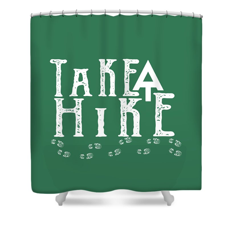 Hike Shower Curtains