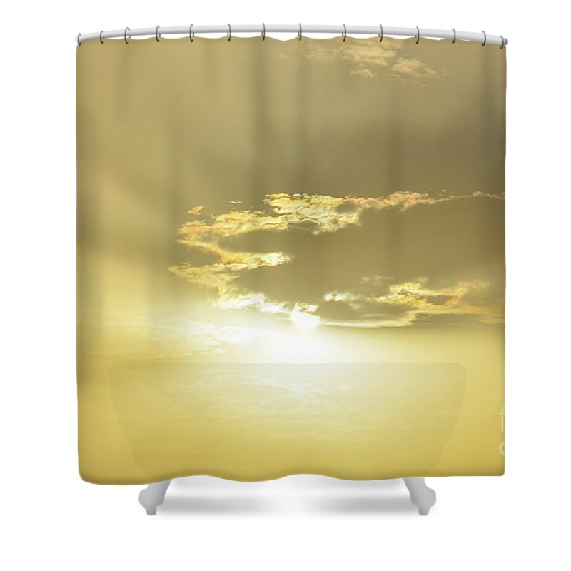 Take Me Away Shower Curtain featuring the photograph Take Me Away by Des Marquardt