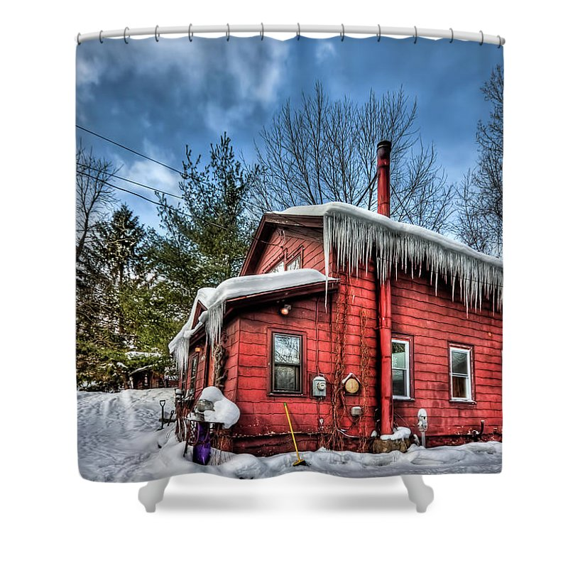 Home Shower Curtain featuring the photograph Take My Hand by Evelina Kremsdorf