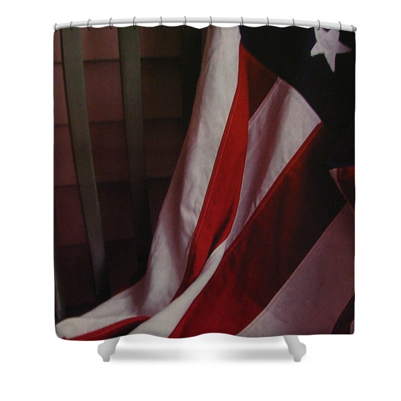 Art For The Wall...patzer Photography Shower Curtain featuring the photograph Taken A Rest by Greg Patzer