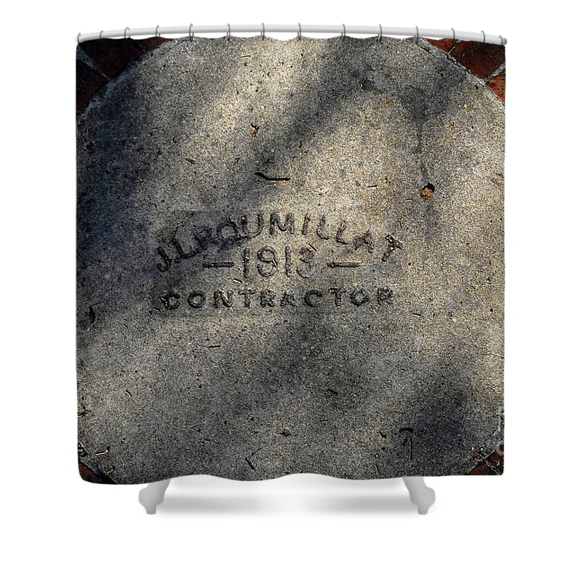 Contractor Shower Curtain featuring the photograph Tampa Bay Hotel 1913 by David Lee Thompson