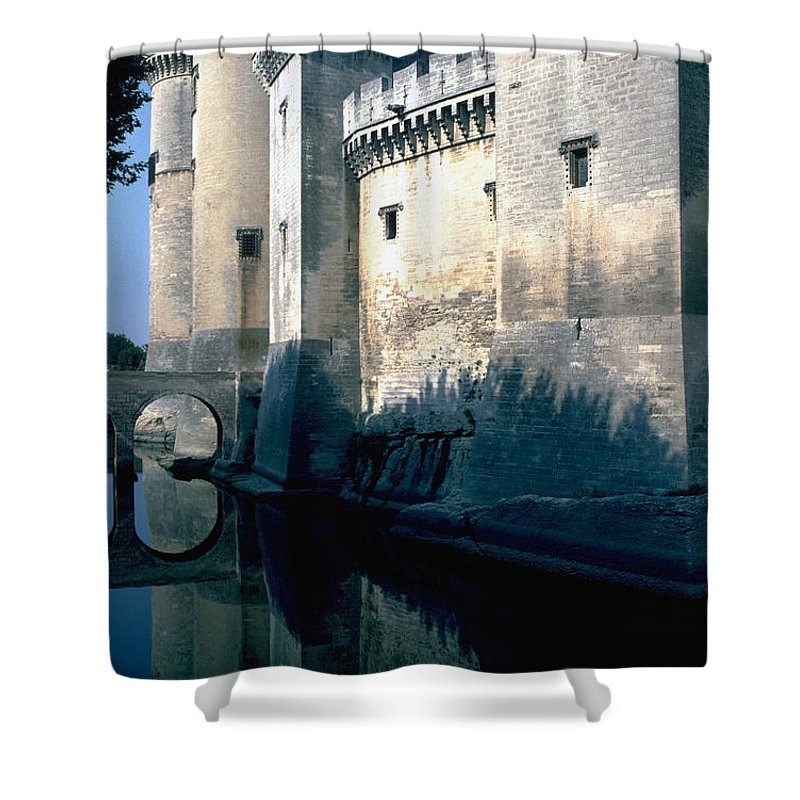 Tarragon France Castle Shower Curtain featuring the photograph Tarragon France by Flavia Westerwelle