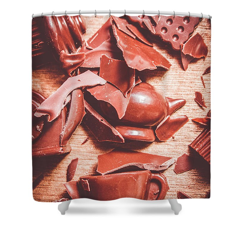 Chocolate Shower Curtain featuring the photograph Tea Break by Jorgo Photography - Wall Art Gallery