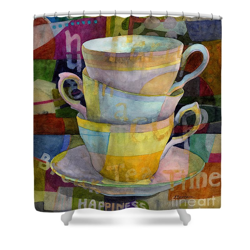Tea Time Shower Curtains