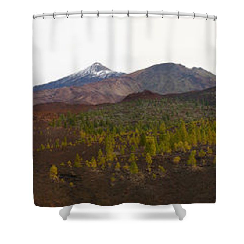 Landscape Shower Curtain featuring the photograph Teide Nr 12 by Jouko Lehto