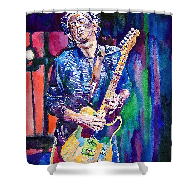 Keith Richards Shower Curtains