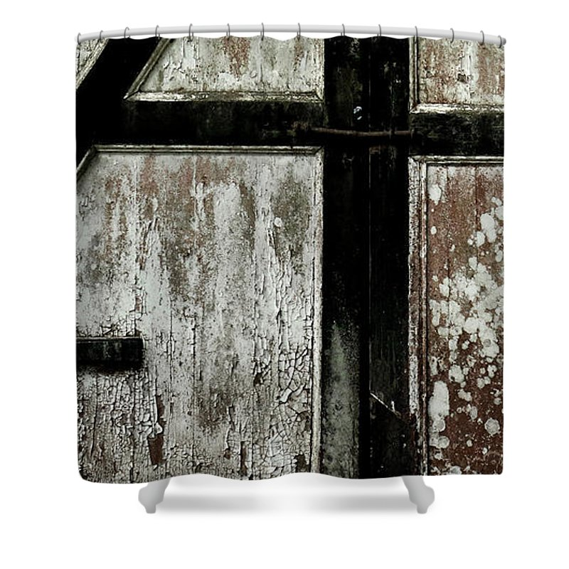 Texture Shower Curtain featuring the photograph Texture by Sara Pournaghavi
