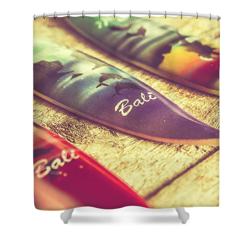 Board Shower Curtain featuring the photograph The Art Of Surf by Jorgo Photography - Wall Art Gallery
