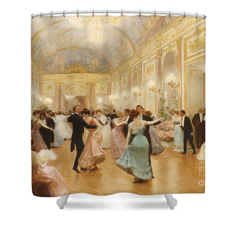 High Society Shower Curtains