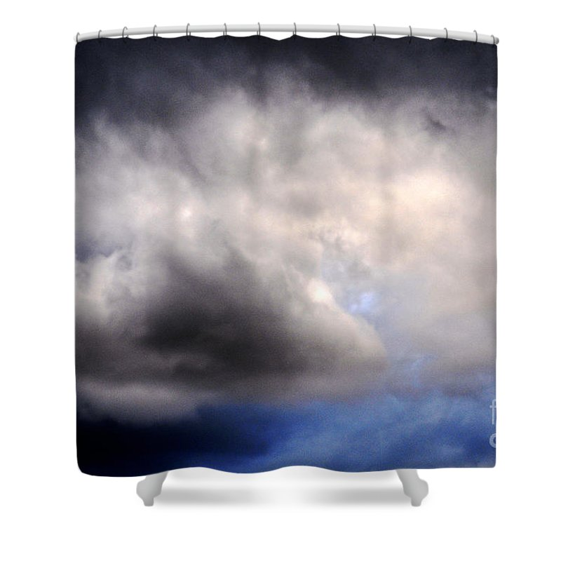 Clay Shower Curtain featuring the photograph The Beauty Of Clouds by Clayton Bruster