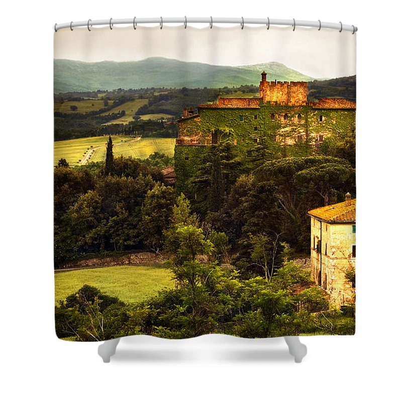 Italy Shower Curtain featuring the photograph The Best Of Italy by Marilyn Hunt