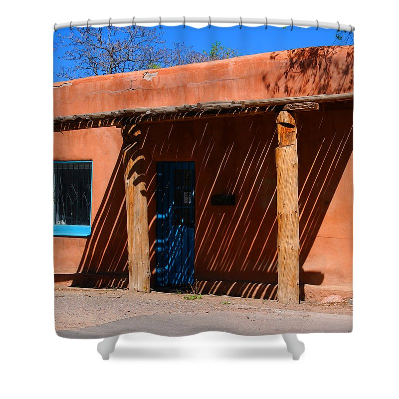 Santa Fe Shower Curtain featuring the photograph The Big Shade by Susanne Van Hulst