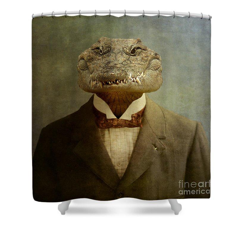 Crocodile Shower Curtains