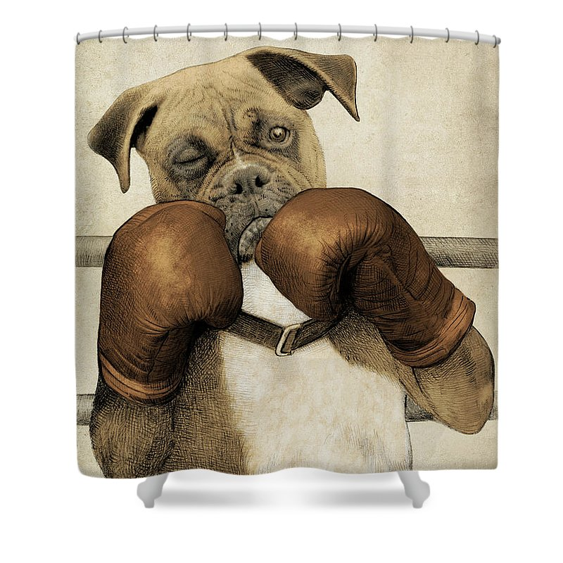 Boxers Shower Curtains