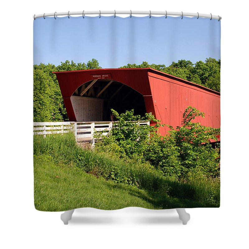 Photography Shower Curtain featuring the photograph The Bridges Of Madison County by Susanne Van Hulst
