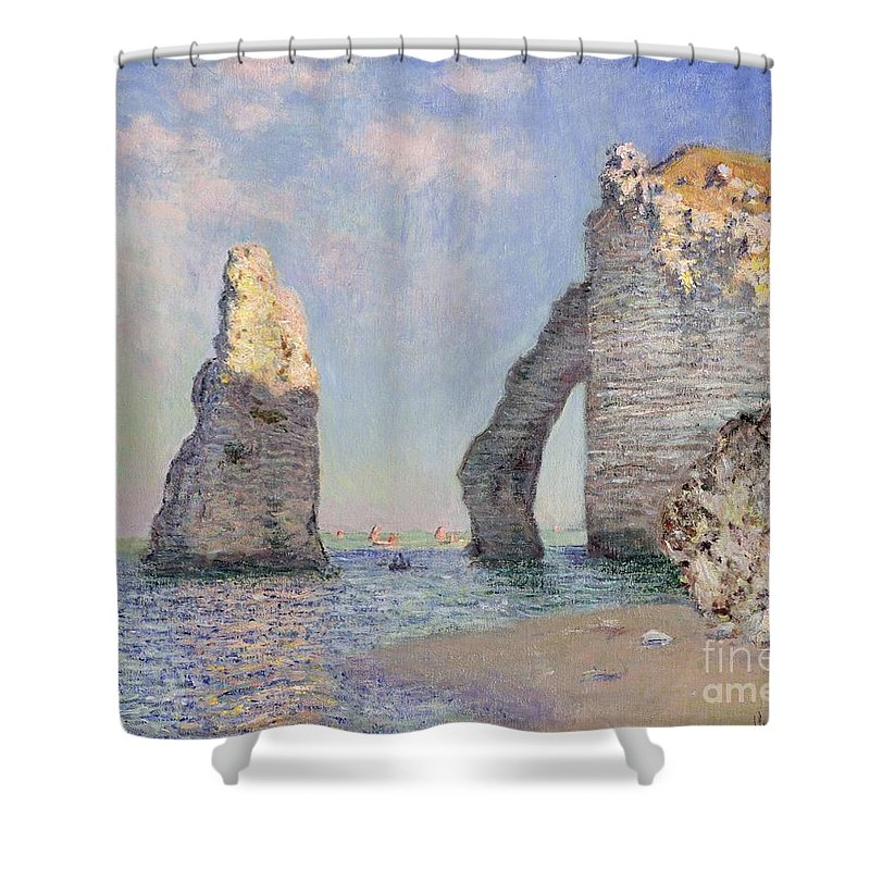 Rock Formation Shower Curtains