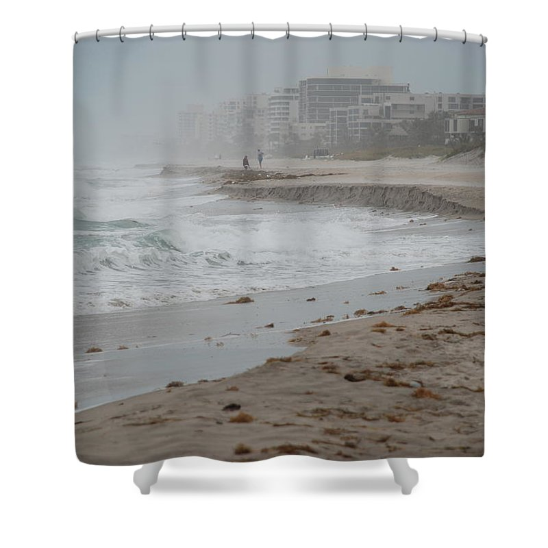 Water Shower Curtain featuring the photograph The Coast by Rob Hans