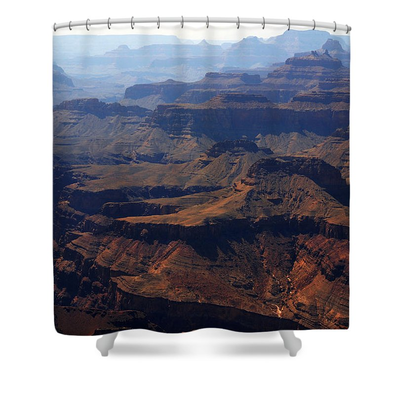 Colorado River Shower Curtain featuring the photograph The Colorado River by Susanne Van Hulst