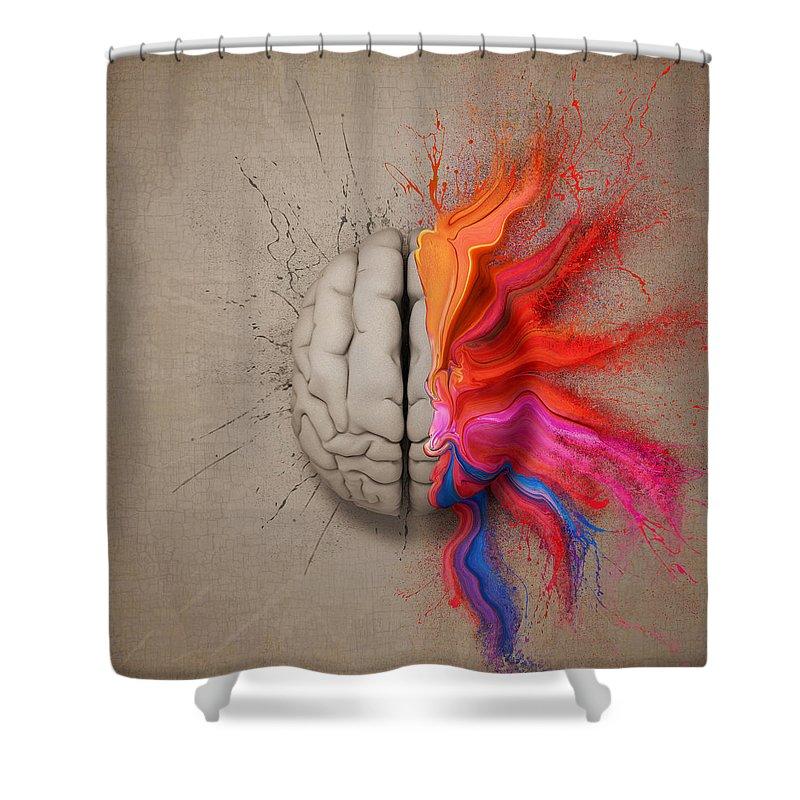 Creativity Shower Curtains