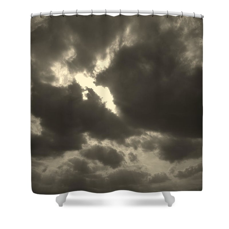 The Dance Shower Curtain featuring the photograph The Dance by Ed Smith