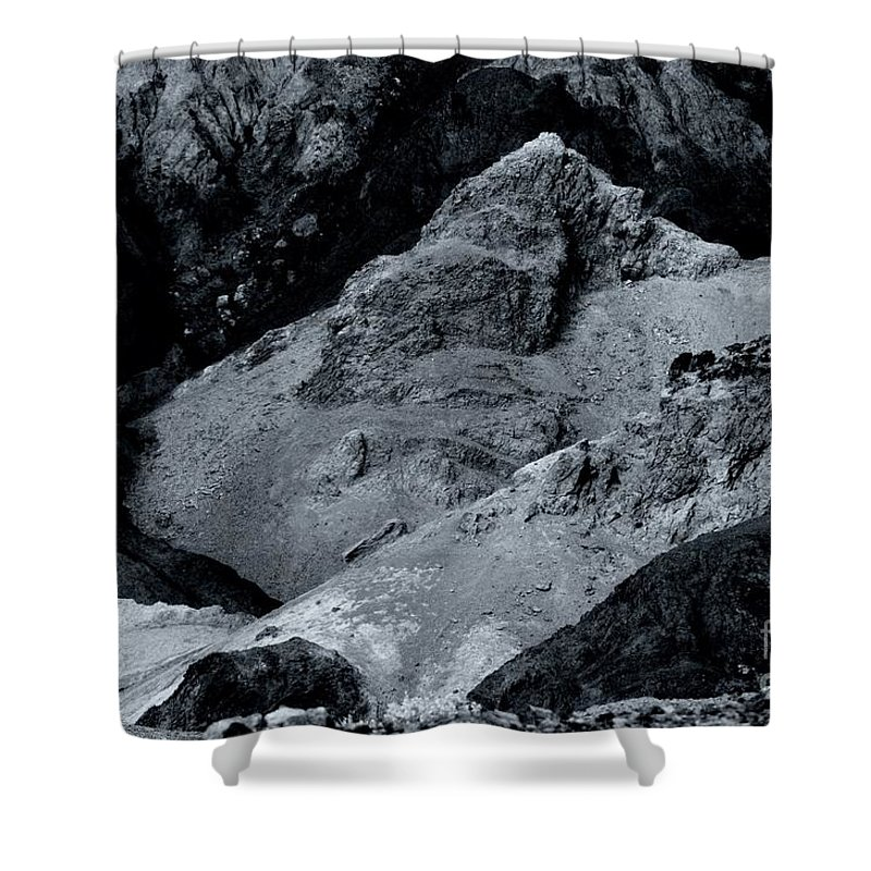 Artist Shower Curtain featuring the photograph The Desert by Kathleen Struckle