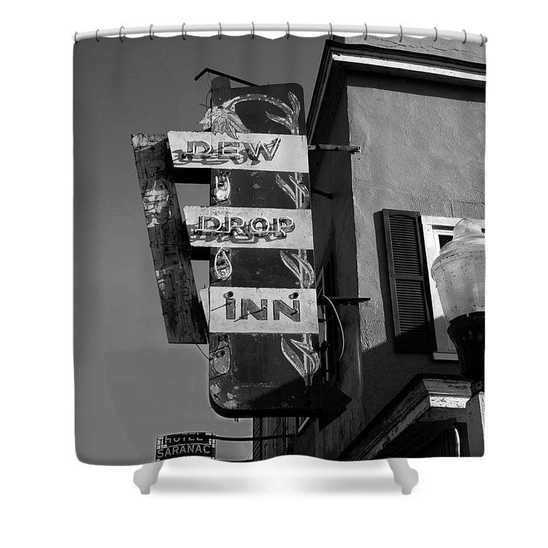 Dew Drop Inn Shower Curtain featuring the photograph The Dew Drop Inn by David Lee Thompson
