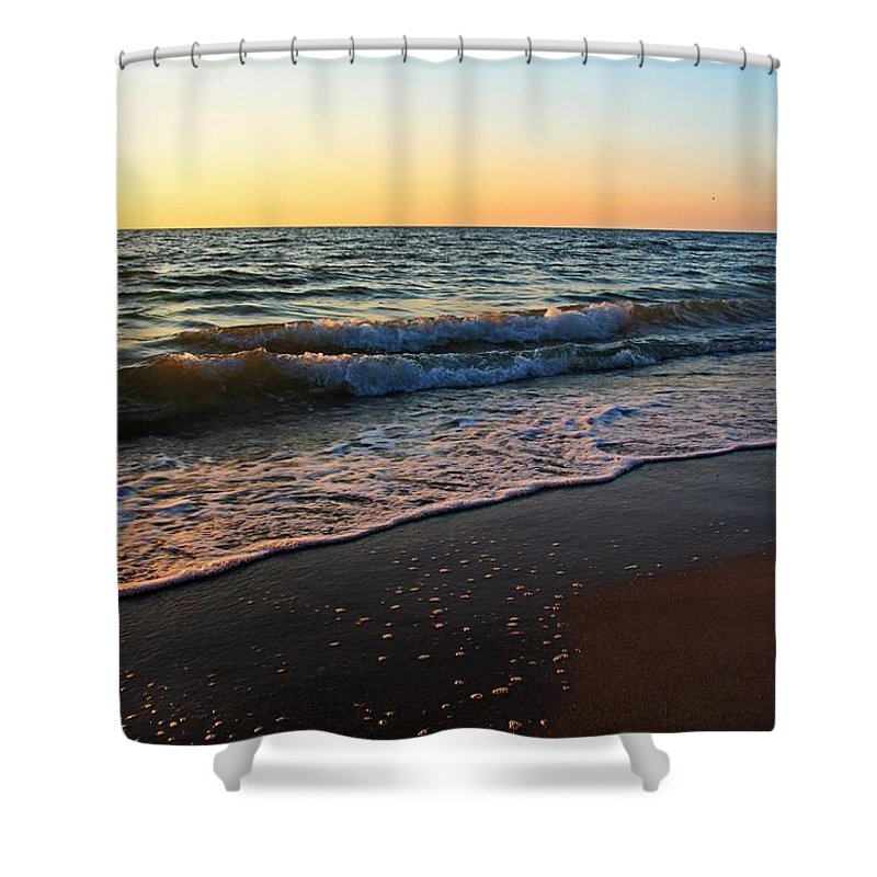 Gulf Of Mexico Shower Curtain featuring the photograph The Disappearance Of Responsibility by Michiale Schneider