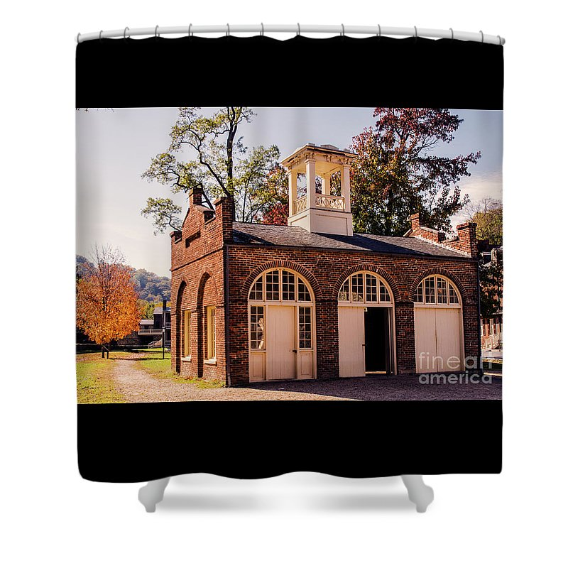 Tree Shower Curtain featuring the photograph The End Of The Beginning by Roy Branson