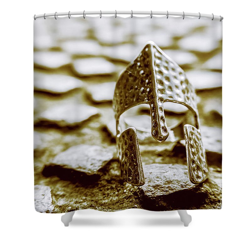 Roman Shower Curtain featuring the photograph The Fall Of Rome by Jorgo Photography - Wall Art Gallery