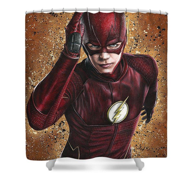The Flash Shower Curtain For Sale By Svetlana Drobakhina