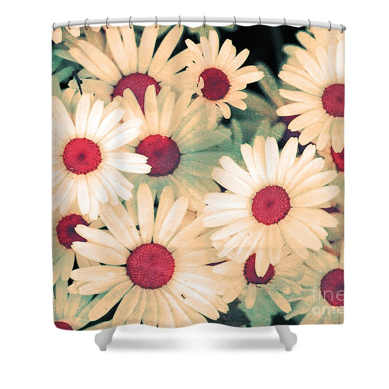 Flowers Shower Curtain featuring the photograph The Flowers At 5 Am by Tara Turner