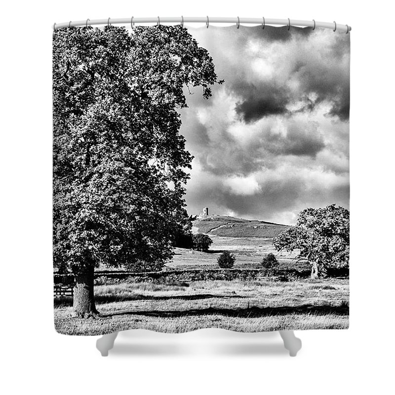 Parkland Shower Curtain featuring the photograph Old John Bradgate Park by John Edwards