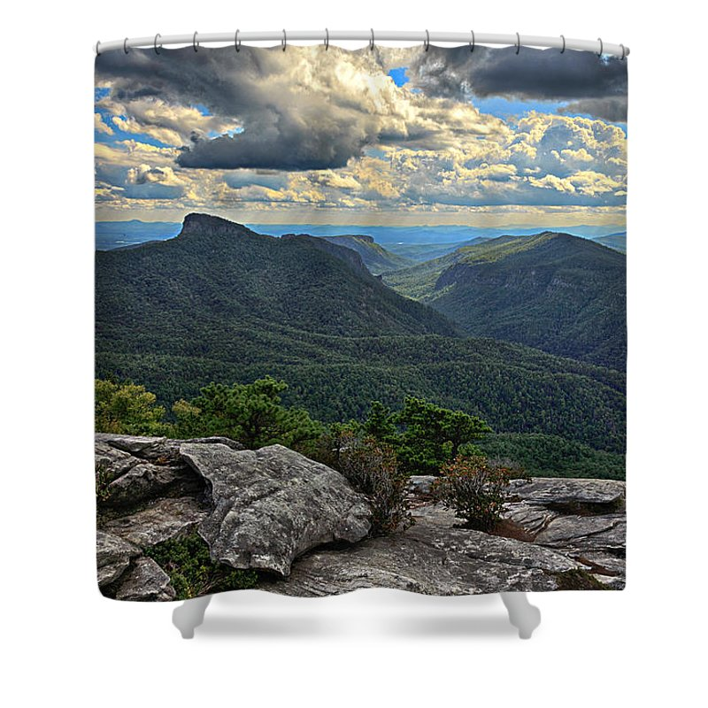 Linville Gorge Shower Curtain featuring the photograph The Gorge by Kevin Senter