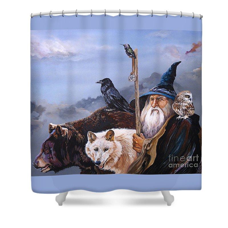 Wizard Shower Curtains
