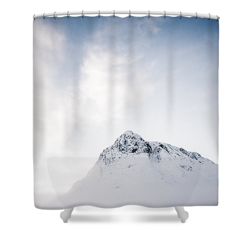 Buachaille Etive Mor Shower Curtain featuring the photograph The Great Herdsman #2 by Kate Morton