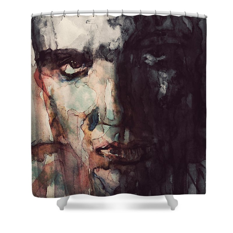 Elvis Rock Shower Curtains