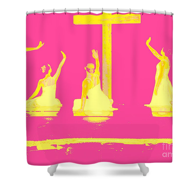 Dance Shower Curtain featuring the photograph The Light Inside by Kelley Sims