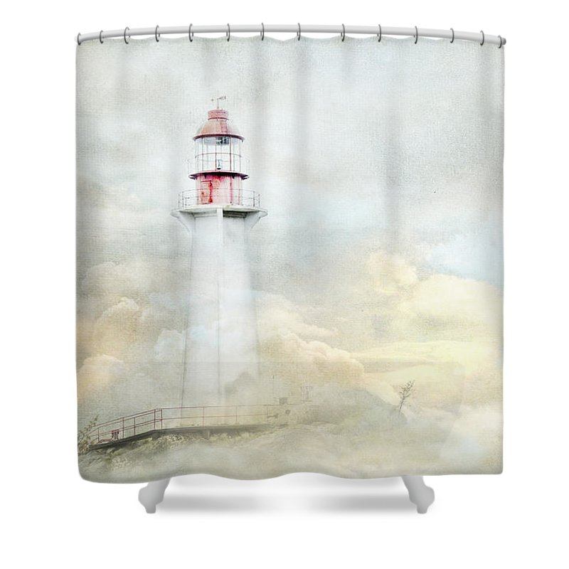Point Atkinson Lighthouse Shower Curtains