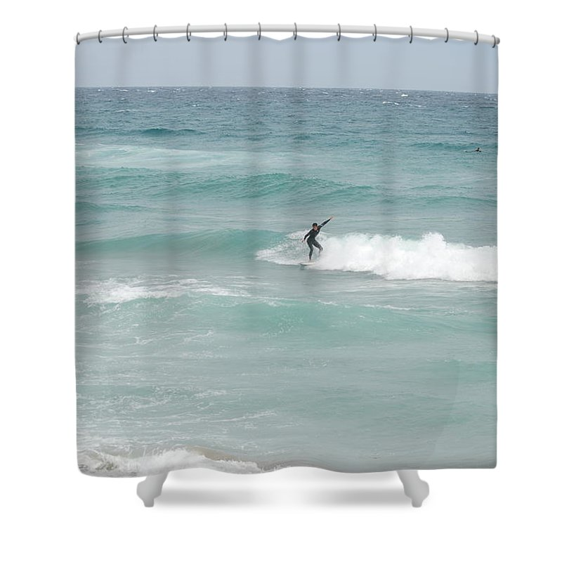 Water Shower Curtain featuring the photograph The Long Summer by Rob Hans