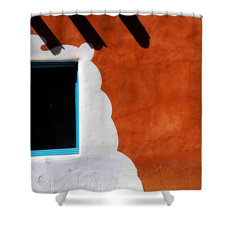 Photography Shower Curtain featuring the photograph The Magic Of Santa Fe by Susanne Van Hulst