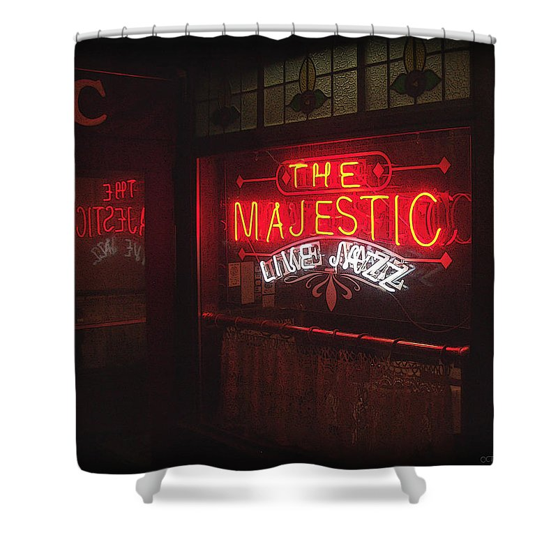 Majestic Shower Curtain featuring the photograph The Majestic by Tim Nyberg