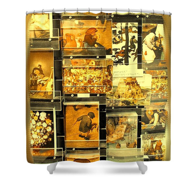 Art Shower Curtain featuring the photograph The Masters Reduced To This by Ian MacDonald
