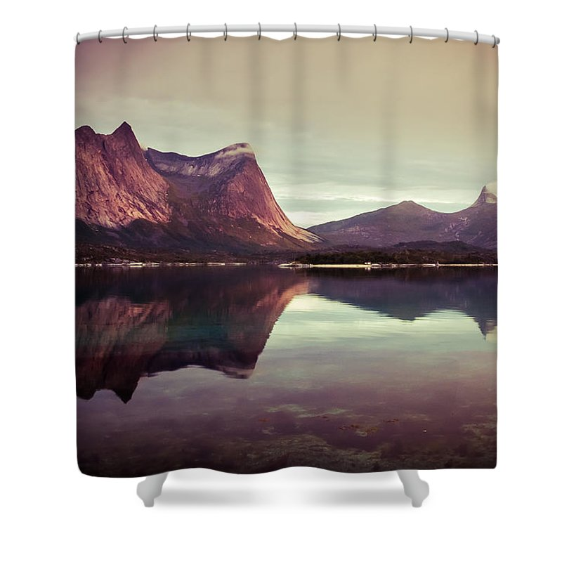 Europe Shower Curtain featuring the photograph The Mirroring by Radek Spanninger