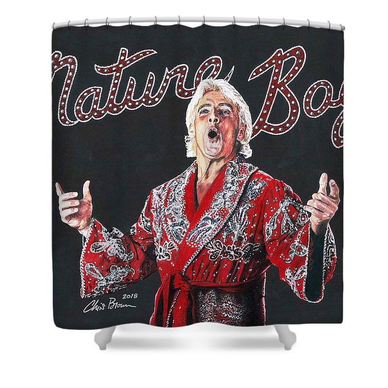 Weight Of The World Shower Curtains